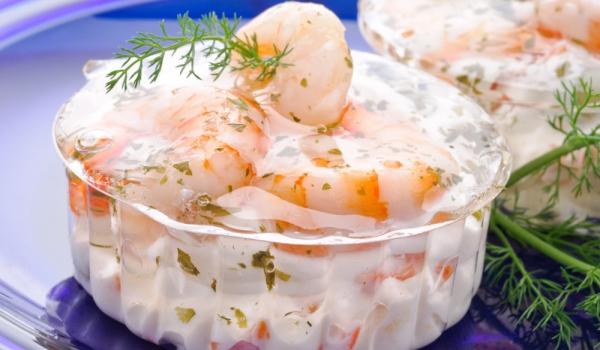Мус от сирене и скариди