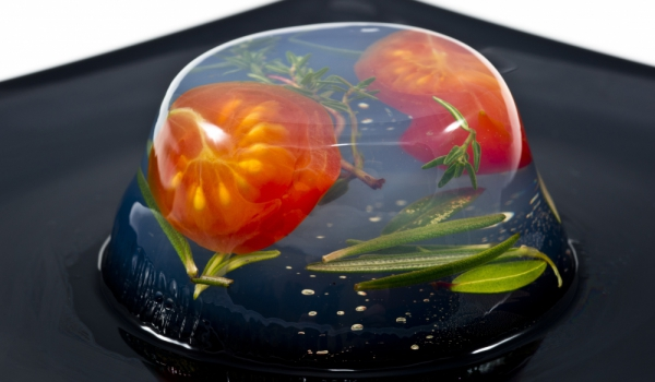 Желирани чери домати