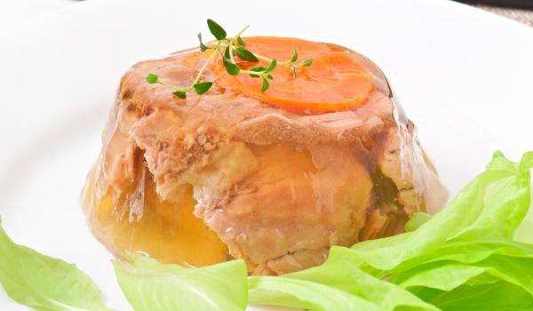 Желирано телешко печено