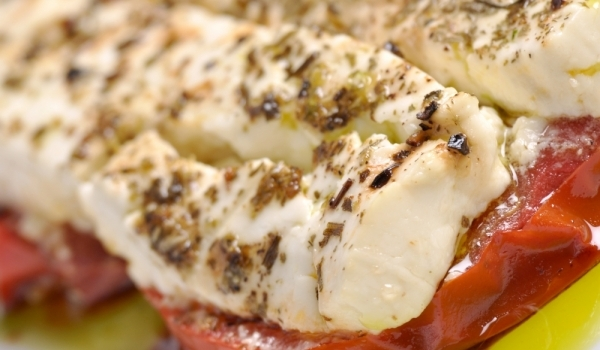 Домати със сирене по гръцки