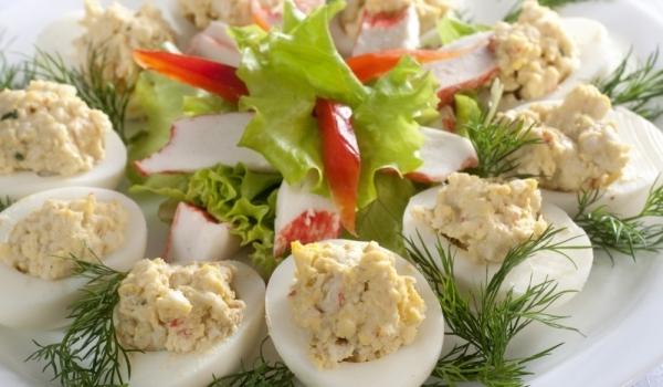 Предястие с яйца за Великден