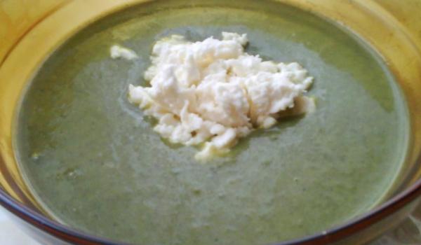 Кремсупа със спанак