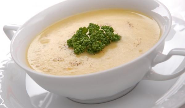 Картофена крем супа със сметана