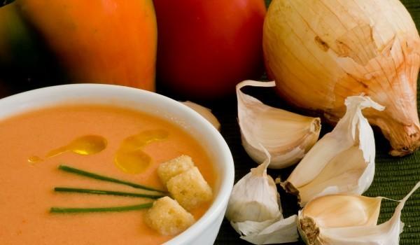 Чеснова крем супа