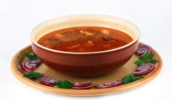 Крем супа от тиквички и домати