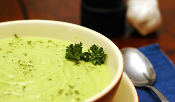 Студена супа от авокадо с кимион