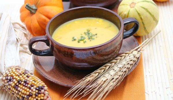 Супа от тиква и авокадо