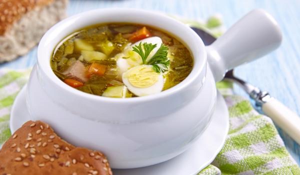 Пролетна супа от лобода