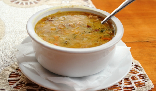 Супа от булгур и кисело зеле