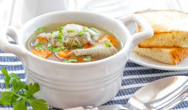 Супа от риба по градинарски