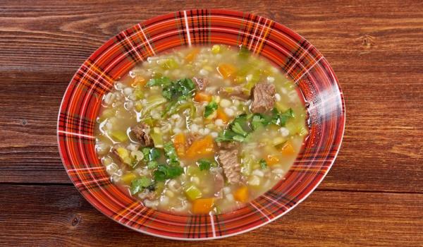 Супа от телешко и свинско месо с ориз