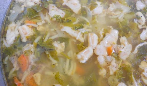 Супа от агнешки чревца с фиде