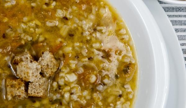 Италианска супа с праз и маслини