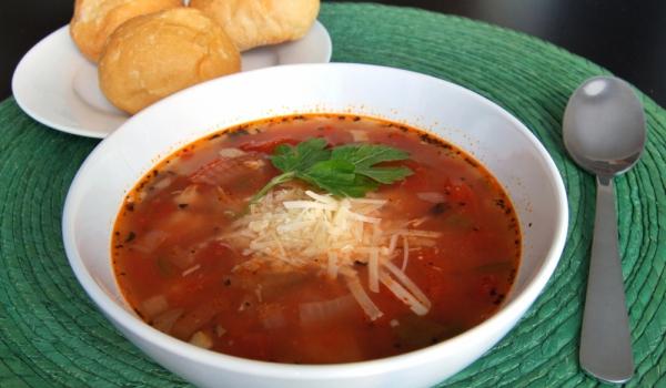 Мексиканска супа с пушени гърди