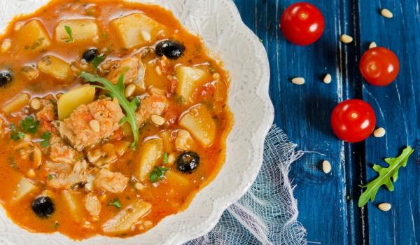 Манастирска рибена супа