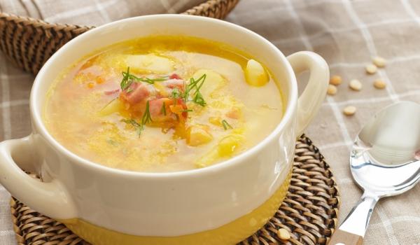 Картофена супа с бекон и копър
