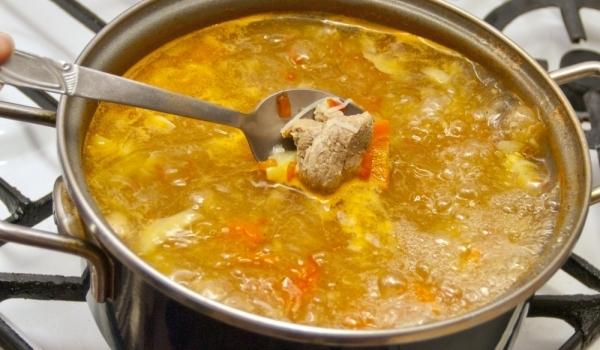 Телешка супа по стара римска рецепта