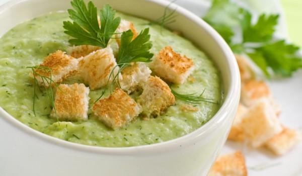 Крем супа от зелен фасул
