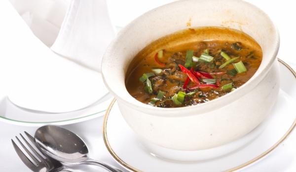 Супа от охлюви с коприва