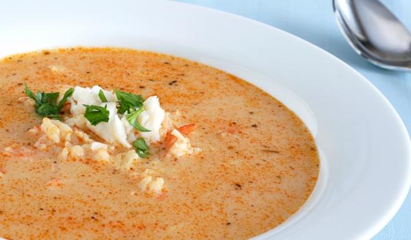 Супа от раци и джинджифил