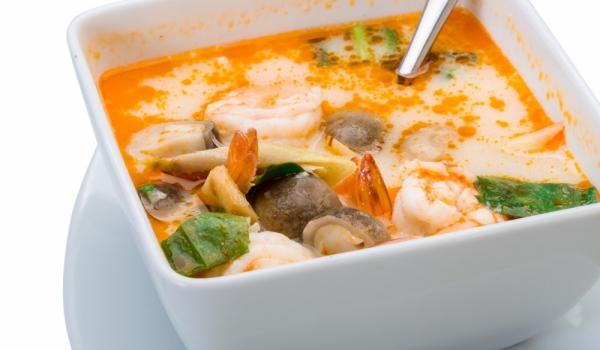 Супа от скариди и риба