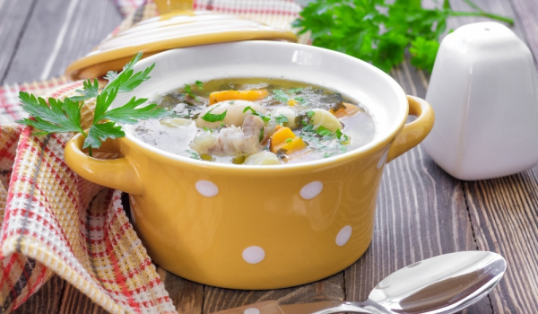 Картофена супа с бакла