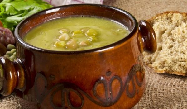 Студена грахова супа