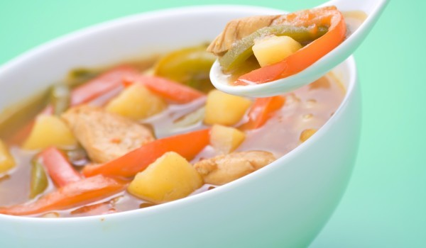 Френска зеленчукова супа със сметана