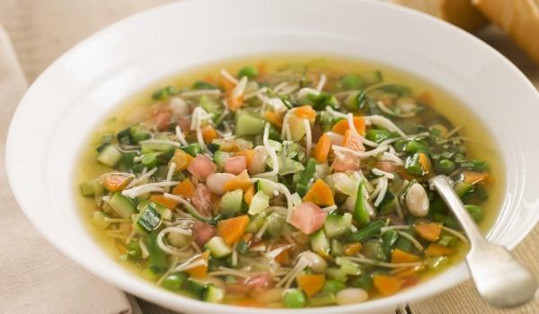 Белгийска супа от сушен грах