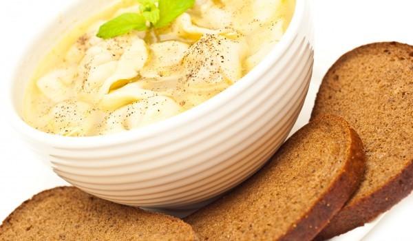 Италианска супа с макарони