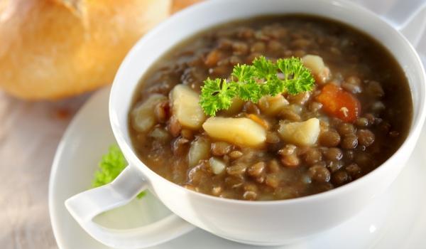 Супа от зеленчуци и леща