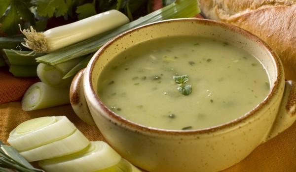 Празена супа със сирене