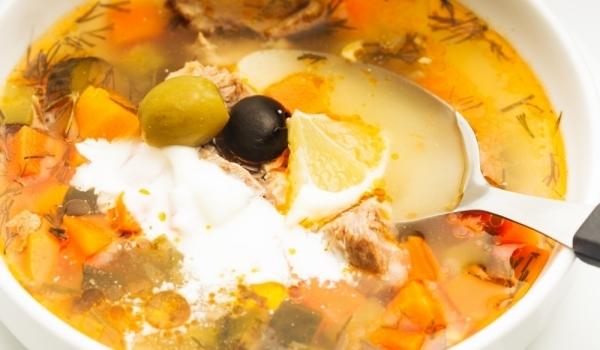 Вегетарианска супа Разсол