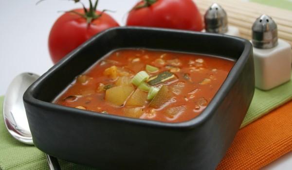 Супа от домати с грис