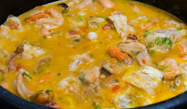 Супа с миди и праз