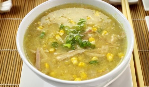 Царевична супа с картофи