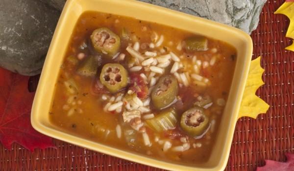 Супа от бамя