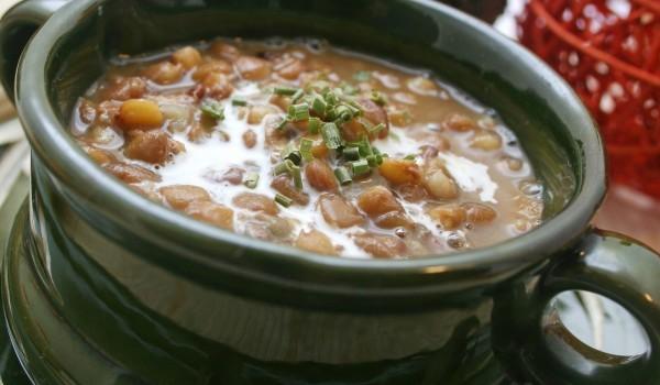 Супа от леща с пушено месо
