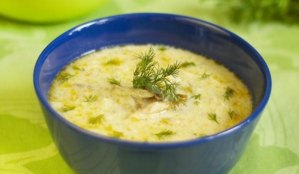Супа от тиквички и копър