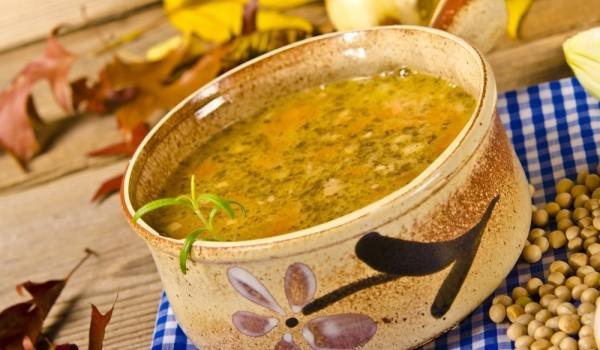 Супа с дробчета и ориз