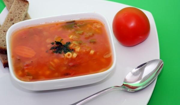 Супи с ориз и домати
