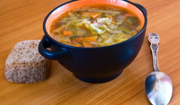 Супа от патица с гъби