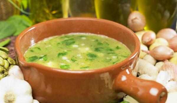 Вегетарианска супа - Разсолник