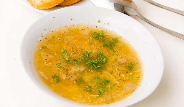 Супа от агнешка главичка