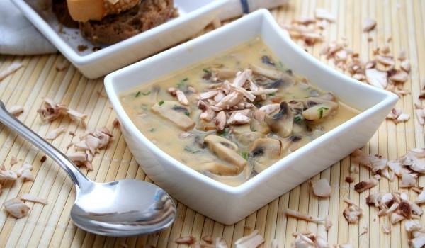 Гъбена супа с шери