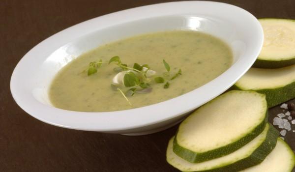 Супа тиквички с ориз
