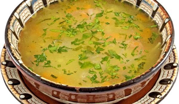 Пилешка супа с ориз