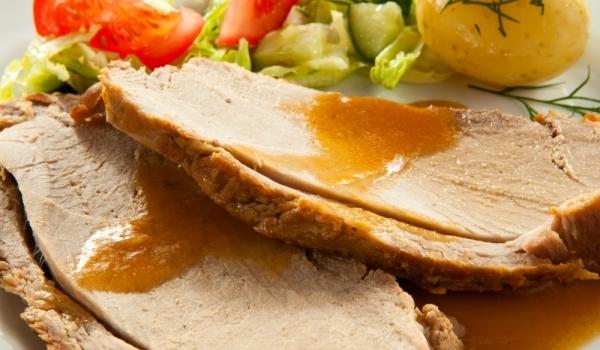 Свинско филе с бира и горчица