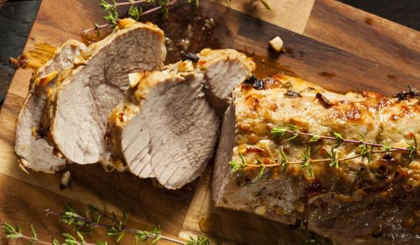 Свинско месо, печено в тъмна бира