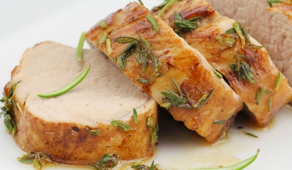 Печено свинско филе